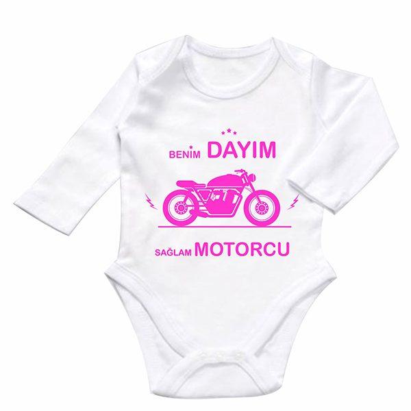 benim dayım sağlam motorcu baby zıbın