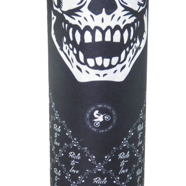 ride to love skulsl mask bandana