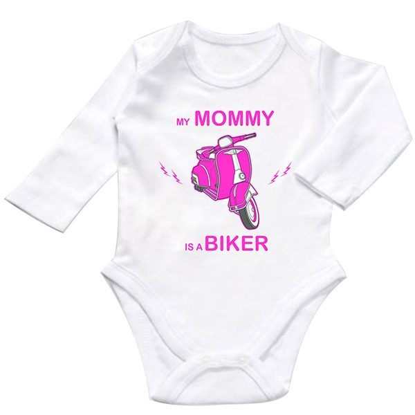 my mommy is a biker pink zıbın