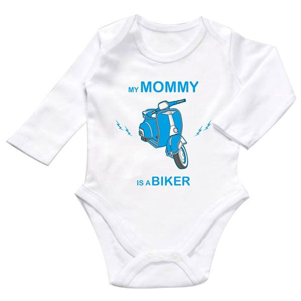 my mommy is a biker zıbın