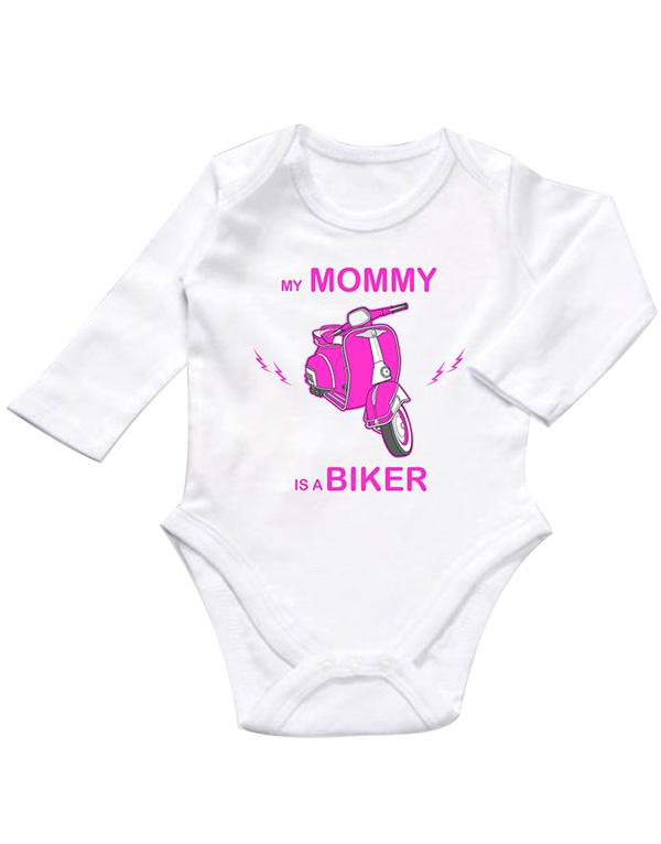 my mommy is a biker pink zıbın