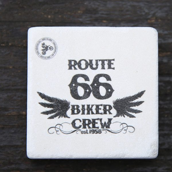 Route 66 dogal tas magnet