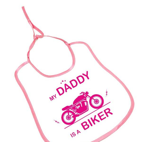 my daddy is a biker bebek önlüğü