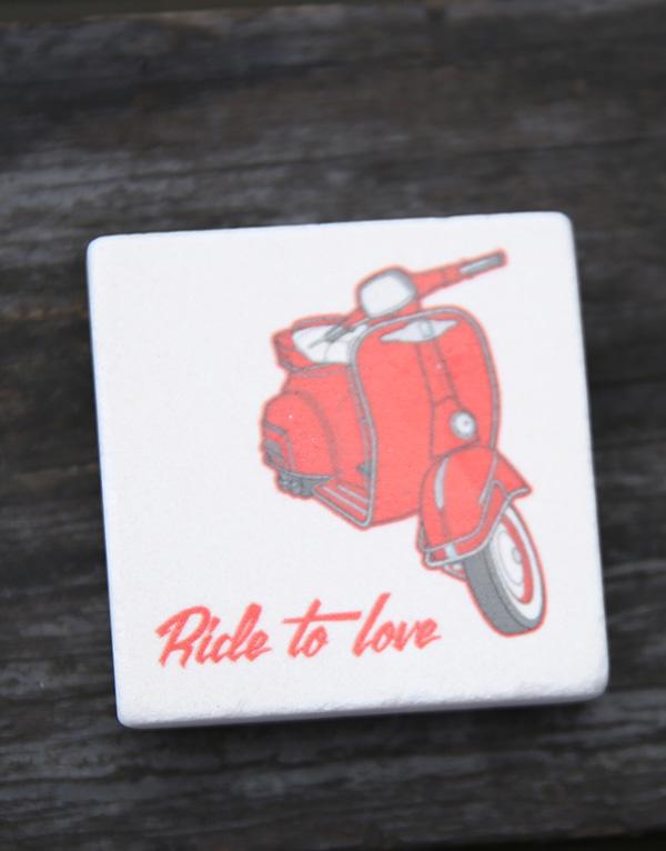 vespa scooter motorsiket dogal tas magnet