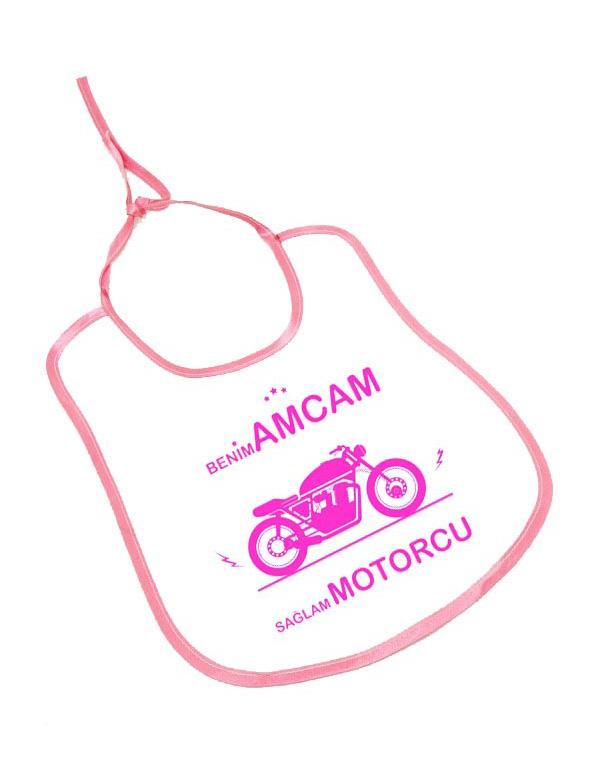 benim amcam saglam motorcu bebek önlük