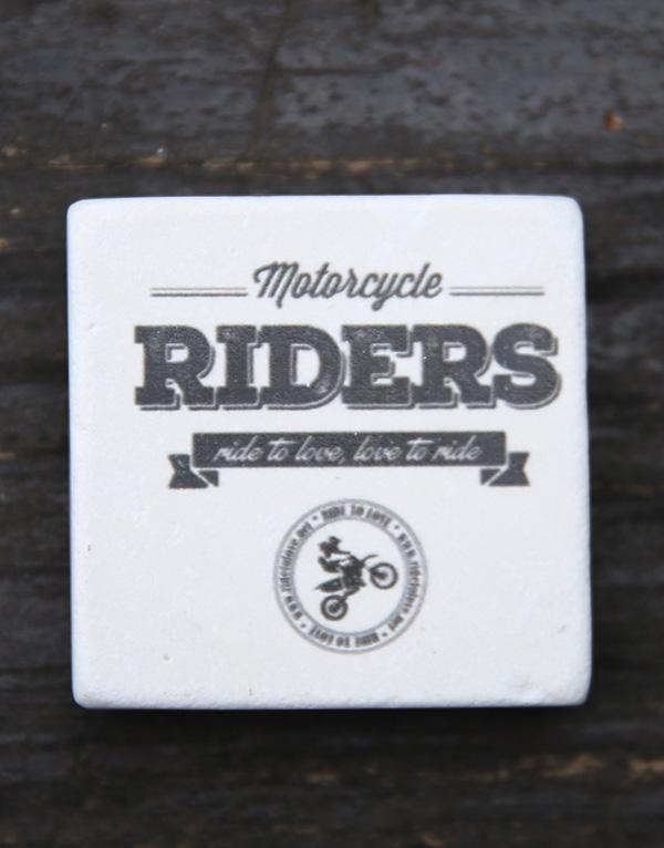 riders doğal taş magnet