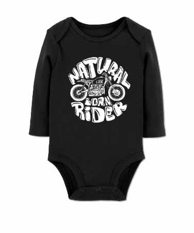 siyah bebek rider bady zıbın
