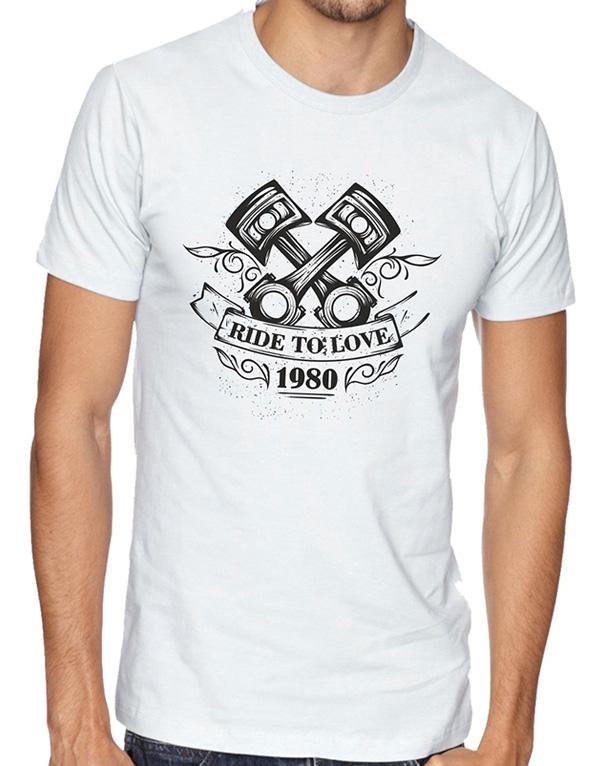 motorcycle pistons tshirt