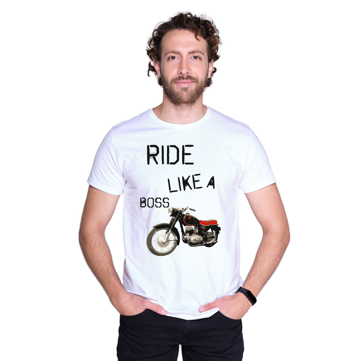 Ride To Love - Ride Like A Boss Motorcycle