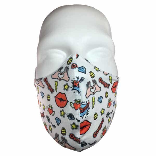 pretty fashion mask