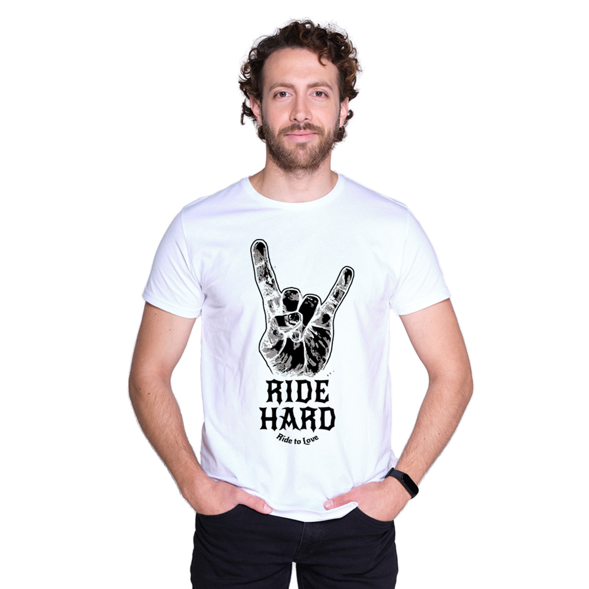 Ride to Love - Ride Hard Motorcycle